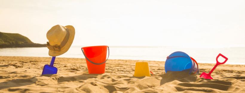 emmertjes in het zand