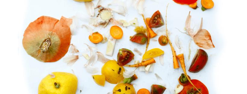 Afbeelding omslag - met groentenafval